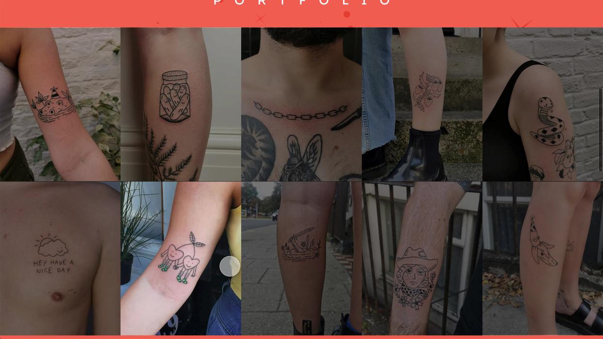 Aurora De Sá, Tattooer, Website
