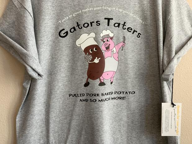 gators taters tee shirt