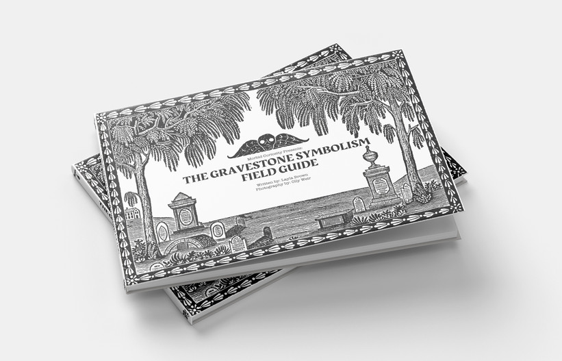 gravestone field guide coffee table book