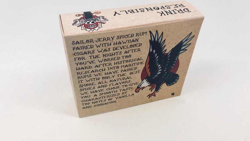 back packaging