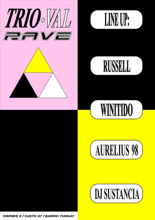 x Trioval Rave