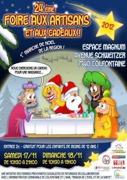 Affiche Marché Noël