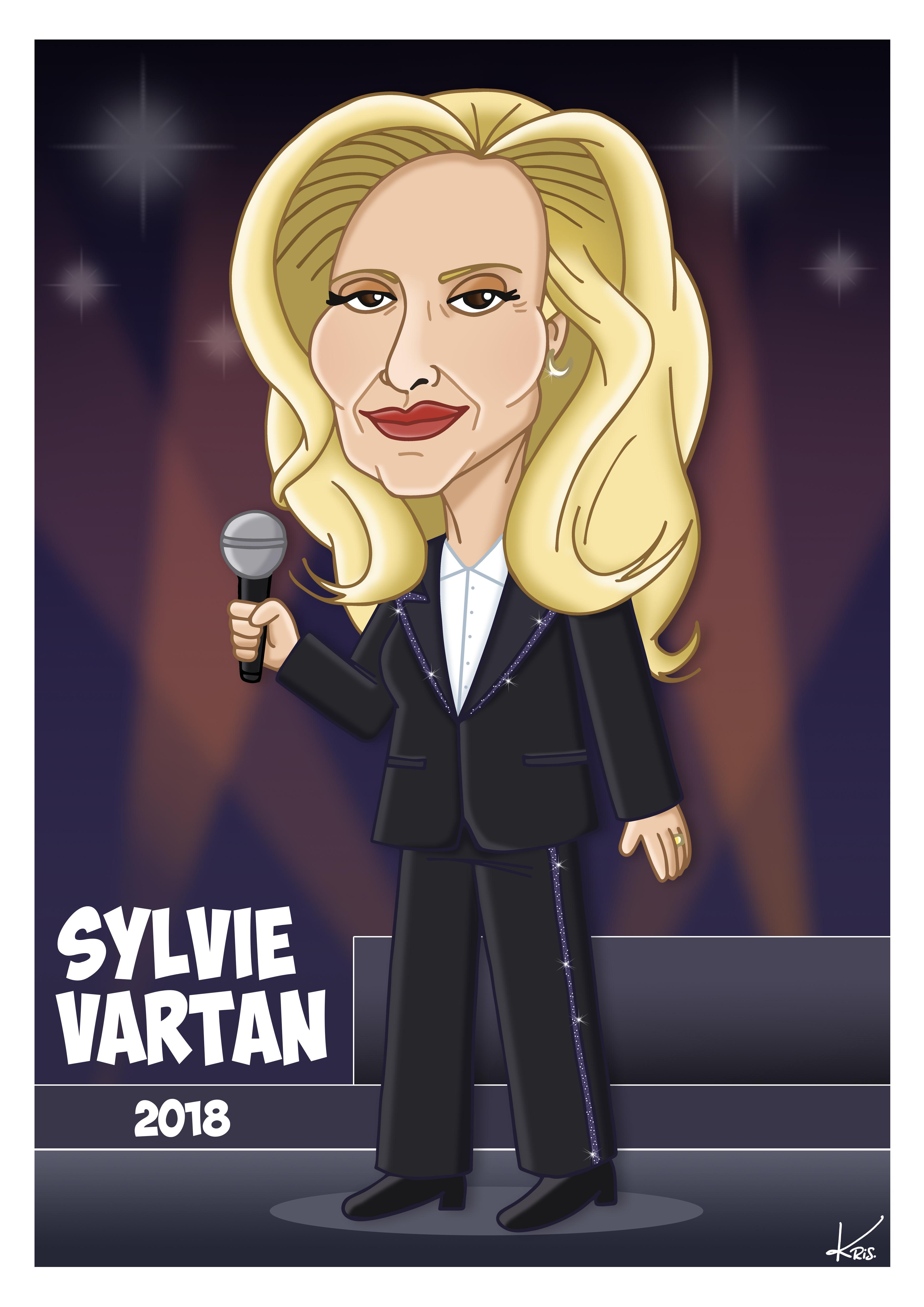 Sylvie Vartan Kris Parenti