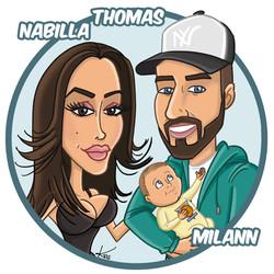 Kris Parenti - Nabilla Thomas