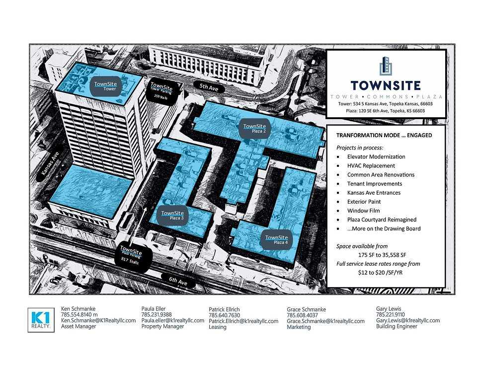 Townsite - Available Space Floor Plans_P