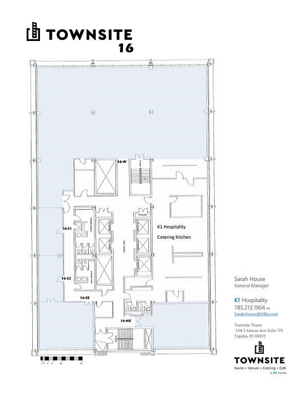 Townsite Venue Floor Plan - Townsite 16.