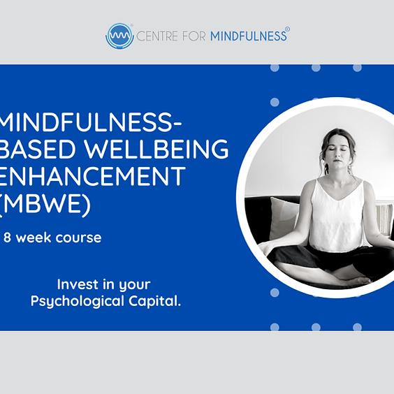 Mindfulness-Based Wellbeing Enhancement (MBWE) - November 2021