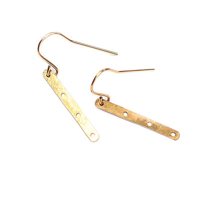 14K MIND BODY SOUL EARRINGS