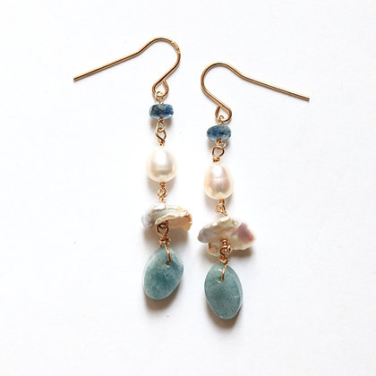 WATER + SKY ELEMENTS EARRINGS