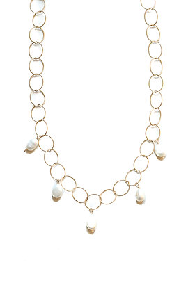 SAILOR PEARL NECKLACE