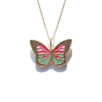 BRIGHT BUTTERFLY NECKLACE