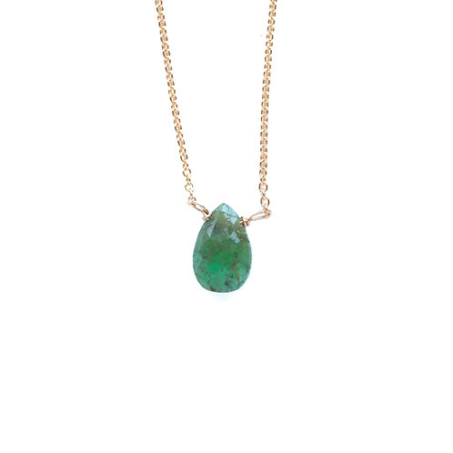 EMERALD MINERAL NECKLACE