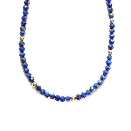 LAPIS MOON CYCLE NECKLACE