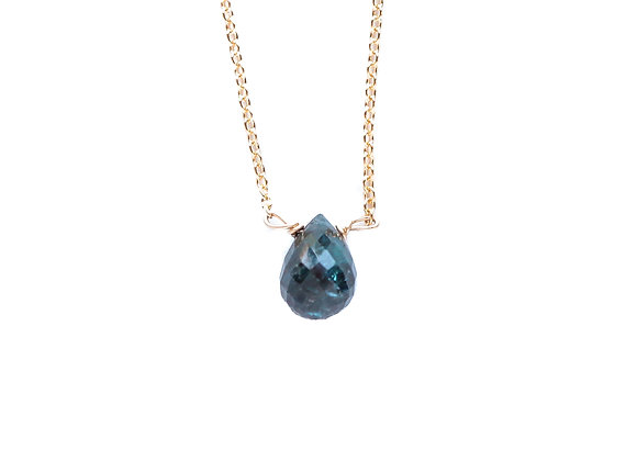 BLUE SAPPHIRE MINERAL NECKLACE
