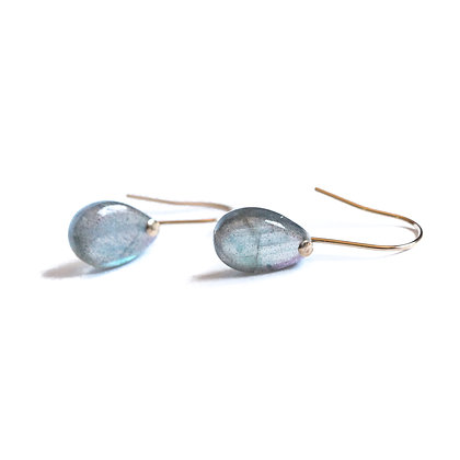 LITTLE LABRADORITE EARRINGS