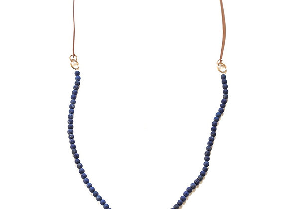 Lapis + Gold Sonoma Necklace