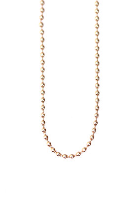 SILKY GOLD BALL CHAIN