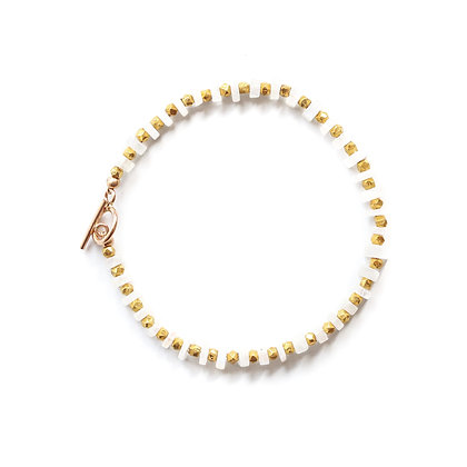 RAINBOW MOONSTONE CEREMONY BRACELET