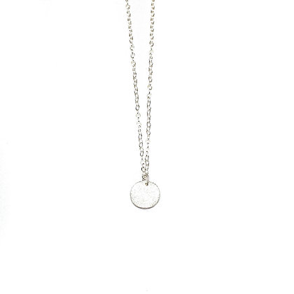 SILVER STAR DUST NECKLACE