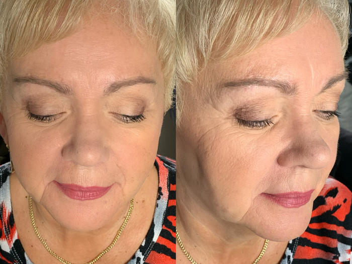 Brautmutter Make-up
