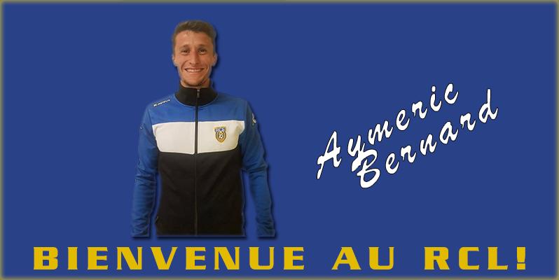 GROUPE SENIORS : AYMERIC BERNARD NOUS REJOINT