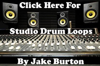 Free Studio Drum Loops by Jake Burton