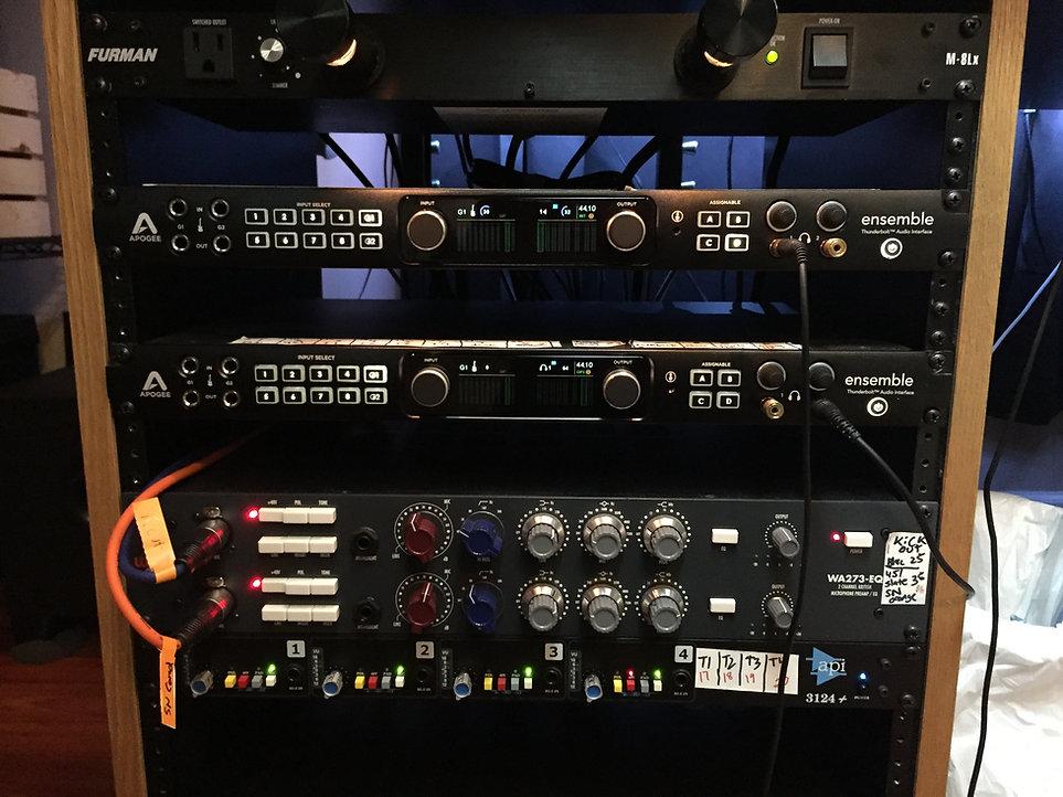 Apogee Ensemble Warm Audio WA273EQ API3124
