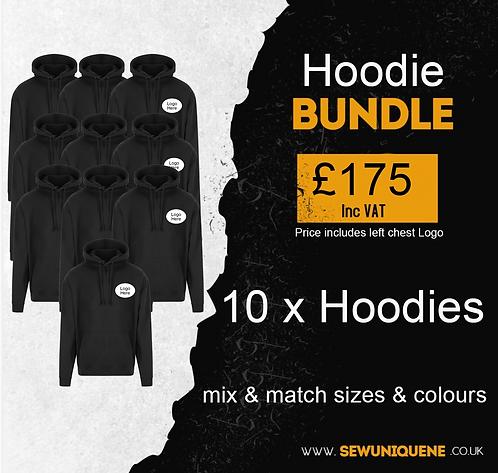 Hoodie Bundle (10 items)