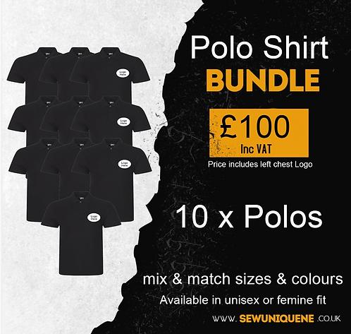 Polo Shirt Bundle (10 items)
