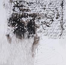 120 x 120 cm - encre et gravure sur sintra