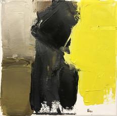 20 x 20 cm huile sur toile