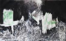 124 X 194 - encre, fusain sur papier photographique