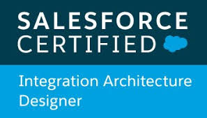 Salesforce certified Integration Architecture Designer badge
