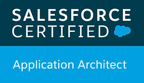 Salesforce certified Application Architect badge