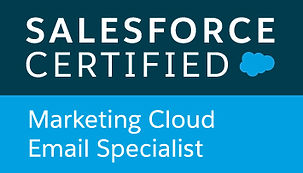 Salesforce Certified Marketing Cloud Specialist Badge