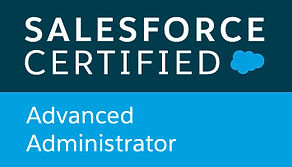 Salesforce certified Advanced Administrator badge