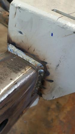 lots of welding
