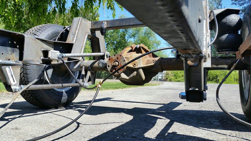 8.8 rear axle