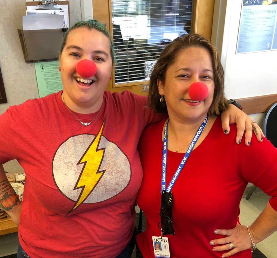 Harris Elementary Celebrates Red-Nose Day (2019)