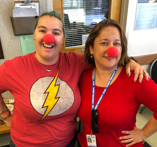 Harris Elementary Celebrates Red-Nose Day (2019)