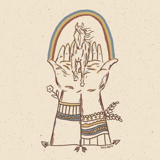 Horse hand rainbow .jpg