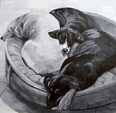 Dog Life 20x20.JPG