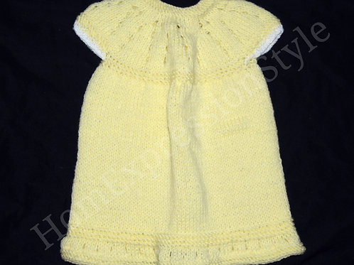 Hint of White Baby Dress