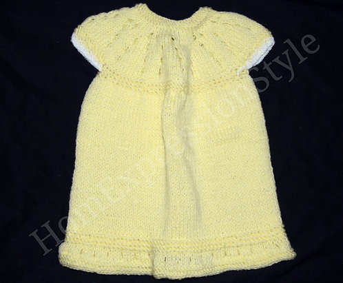 Hint of White Baby Dress