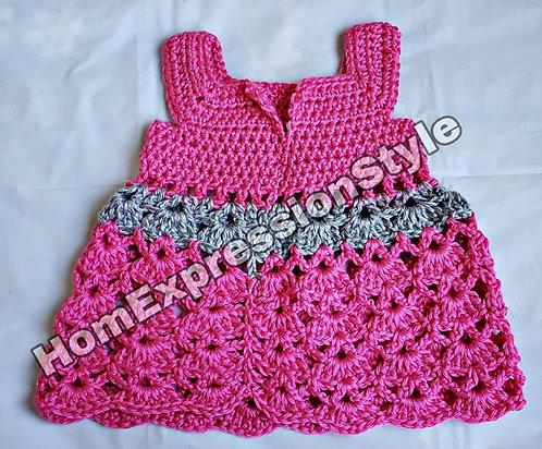 Crochet 3-6 months Dress