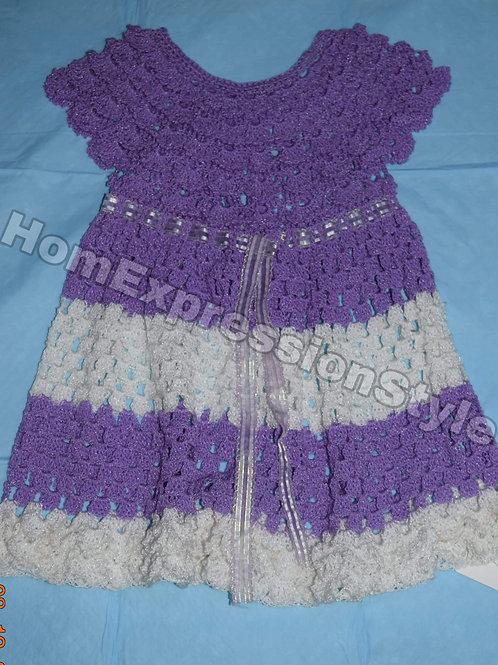 Summer Scallops Toddler Dress (Size 3T)