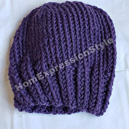 Purple Preemie beanie/hat