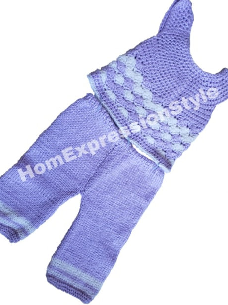 Lavender Dreams Pant Set for 1 Year Old
