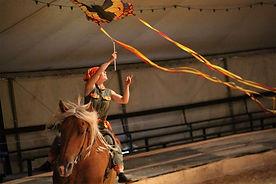 """Spectacle """"les chevaux dans le vent"""", Cie ilù"""