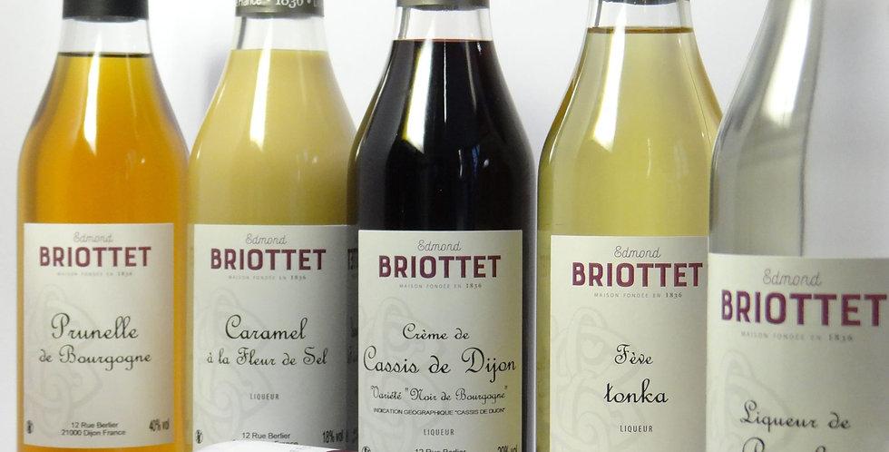 Coffret 3 bouteilles Liqueur Automne - 3 x 20cl